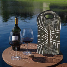Load image into Gallery viewer, 2-Bottle Neoprene Wine Tote- Mali Design 1