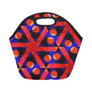 Neoprene Lunch Tote - Exes and Ohs
