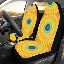 Load image into Gallery viewer, Car Seat Cover Yellow Orange Daisy  (Set of 2)