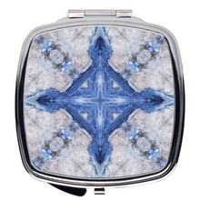 Load image into Gallery viewer, Compact Mirror- Kyanite Cross