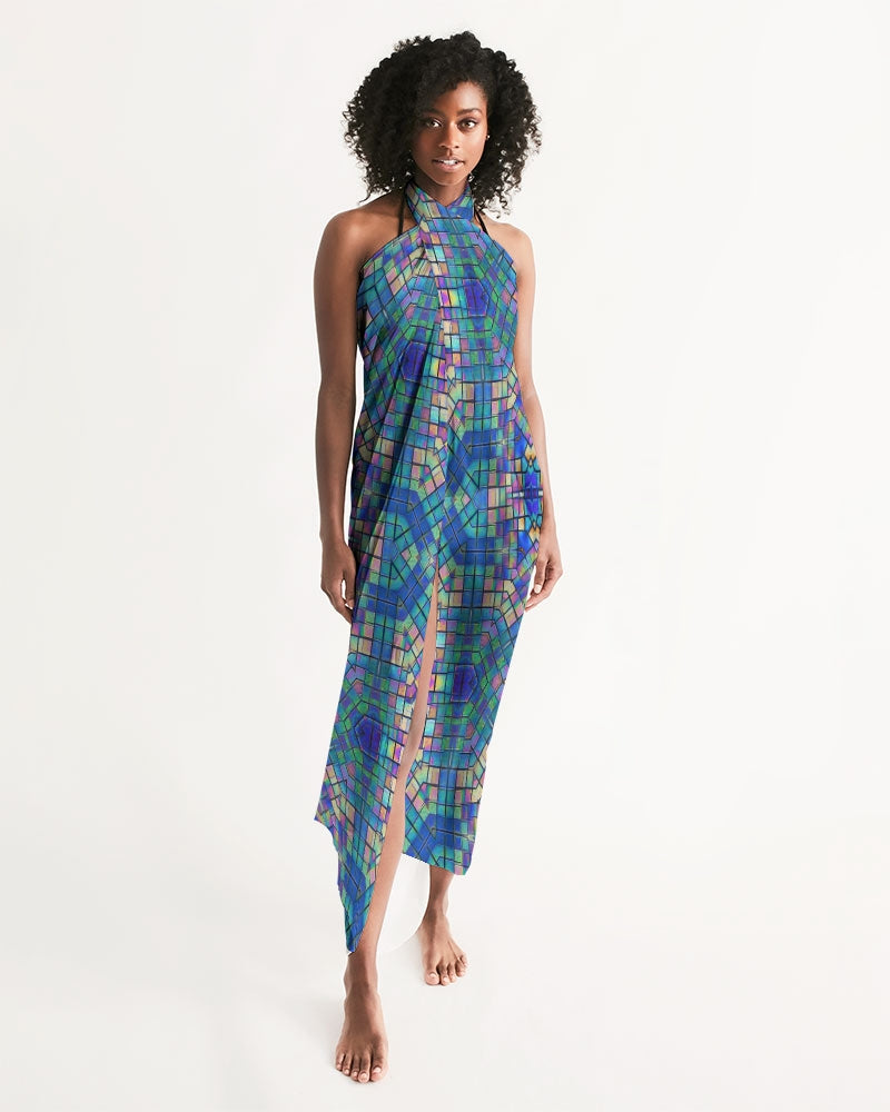 Sarong Swim Cover - Mosaic Swim Cover Up