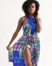 Load image into Gallery viewer, Sarong Cover Up - Blue Mosaic