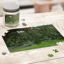 Load image into Gallery viewer, Springtime at the Cabin- A Beautiful Puzzle You Will Enjoy Piecing Together!