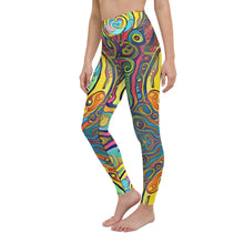 Load image into Gallery viewer, Loops Yoga Waist Leggings Ankle Length