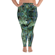Load image into Gallery viewer, Peacock Pandemonium Plus Size Leggings