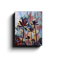 Expressionist Palms Canvas Wrap