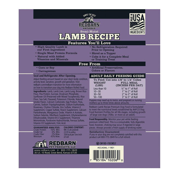 Lamb Recipe Rolled Food Rolled redbarnpetproducts