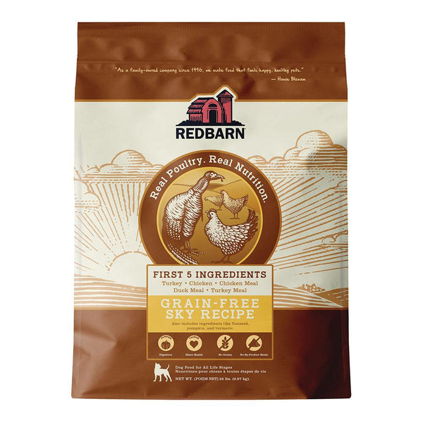 COMING SOON | Grain-Free Sky Recipe Dog Food Redbarn Pet Products 22 lbs (9.97kg)