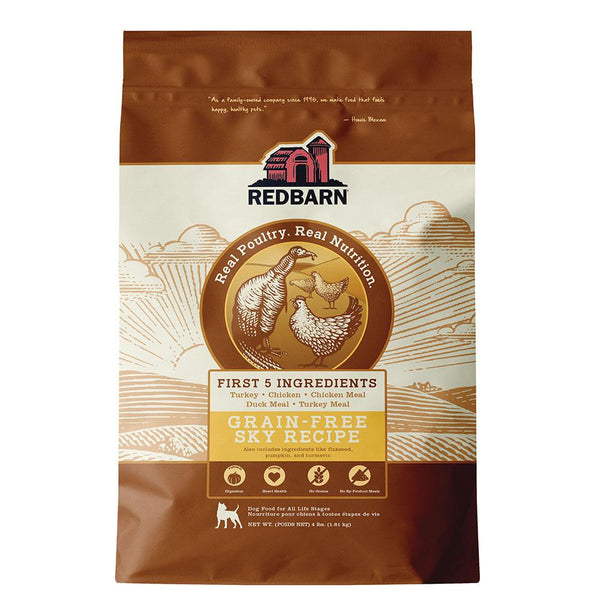 COMING SOON | Grain-Free Sky Recipe Dog Food Redbarn Pet Products 4 lbs (1.81 kg)