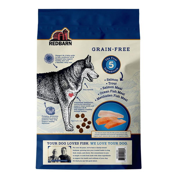 COMING SOON | Grain-Free Ocean Recipe Dog Food Redbarn Pet Products