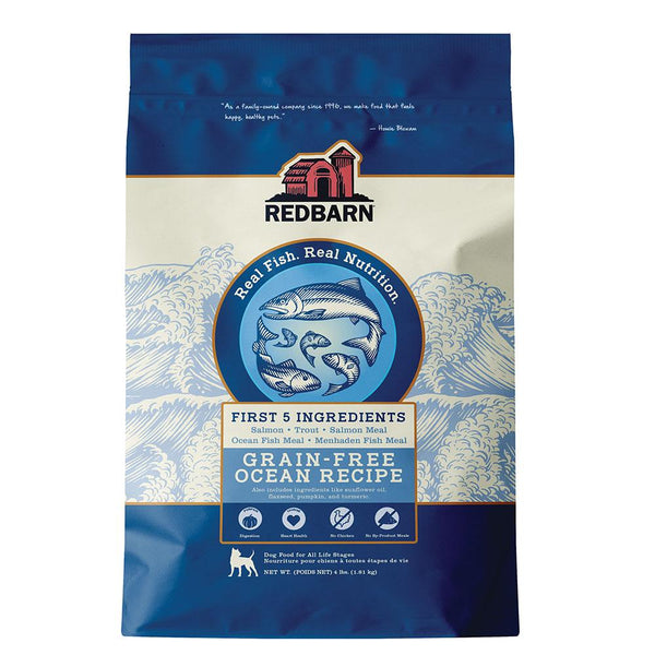 COMING SOON | Grain-Free Ocean Recipe Dog Food Redbarn Pet Products 4 lbs (1.81 kg)