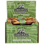 "Braided Bully Stick Bully Sticks redbarnpetproducts 5"" Case of 30 sticks"
