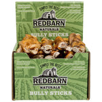 "Braided Bully Stick Bully Sticks redbarnpetproducts 7"" Case of 20 sticks"