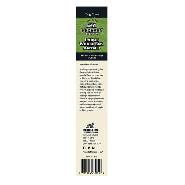 Elk Antler Chews redbarnpetproducts