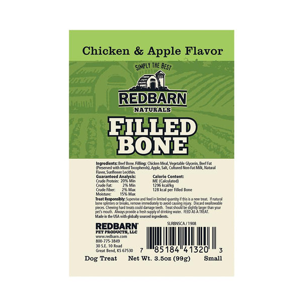 Natural Filled Bone Chicken & Apple Flavor