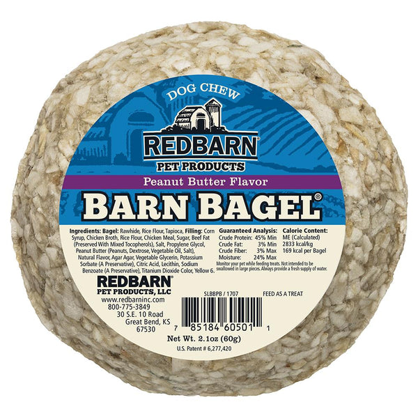 Barn Bagel<sup>®</sup> Peanut Butter Flavor