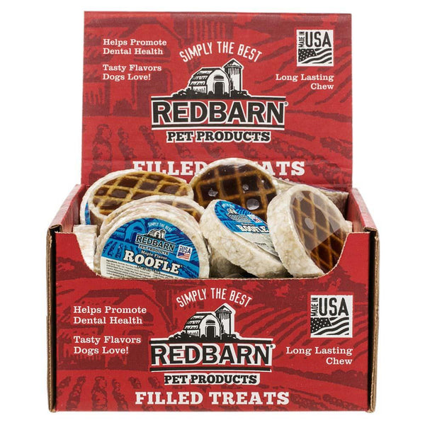 Roofle<sup>®</sup> Maple Flavor Chews redbarnpetproducts Regular Case of 50 roofles