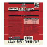 Grain-Free Beef Recipe Rolled Food Rolled redbarnpetproducts