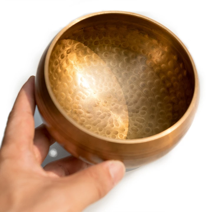 Tibetan Singing Bowl Set: Comes With Bowl And Mallet