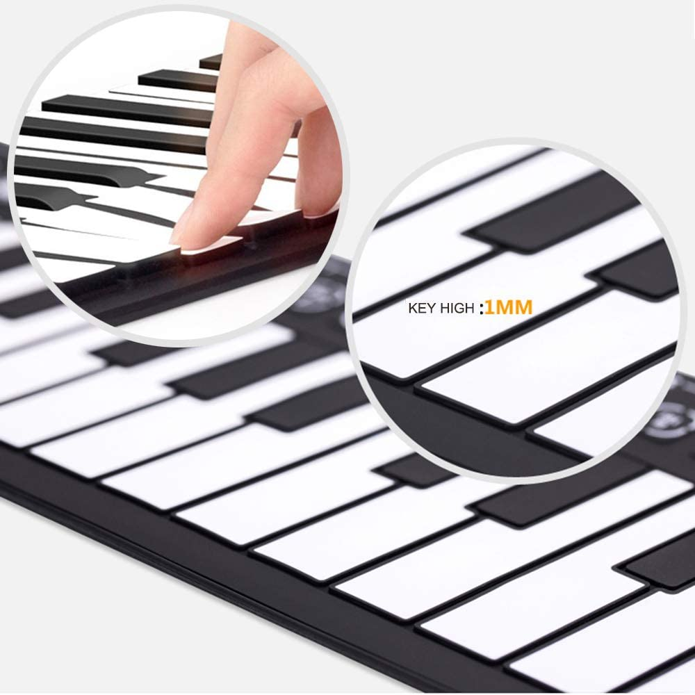 Portable Roll-Up Piano