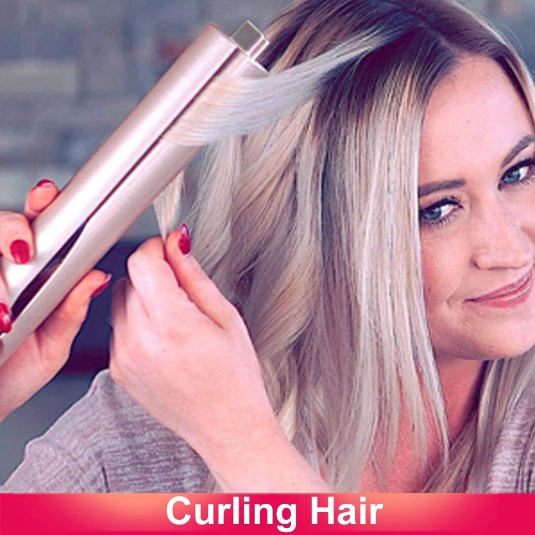 SlayGirl™ 2-in1 Hair Curl & Straightening Iron