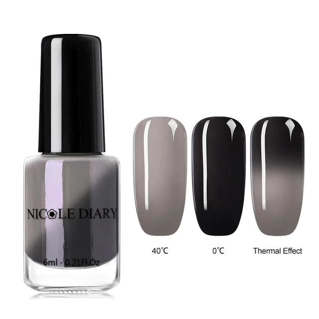 Color Changing Thermal Nail Polish