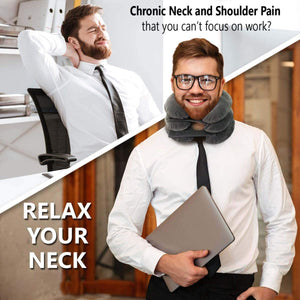 Inflatable Neck Release Pillow
