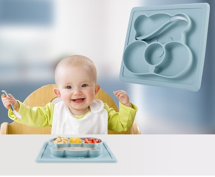 Kids Silicone Suction Tray