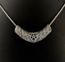 Load image into Gallery viewer, Pendant  DEP264  -  Pendant in Silver & Marcasite