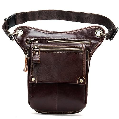 Reconnoitrer Leather Waist Pack