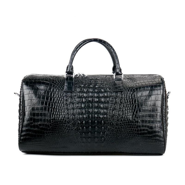 Alligator Leather Weekender
