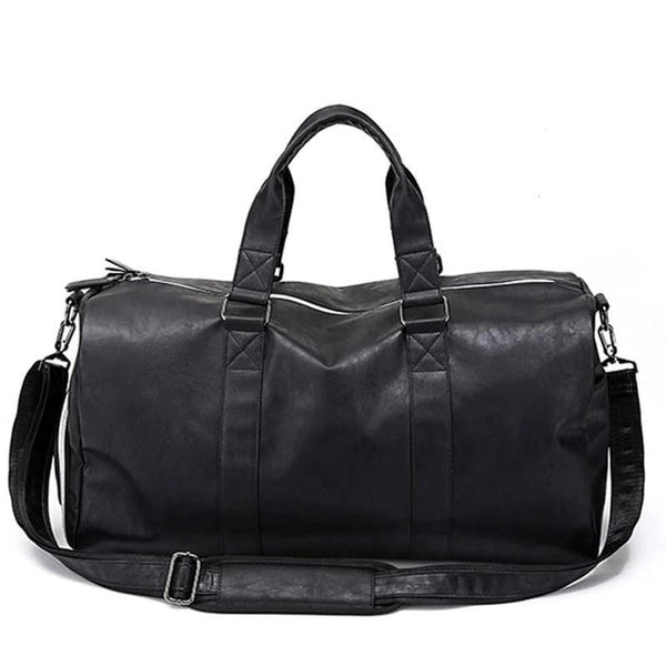 Leather Crossbody Weekender