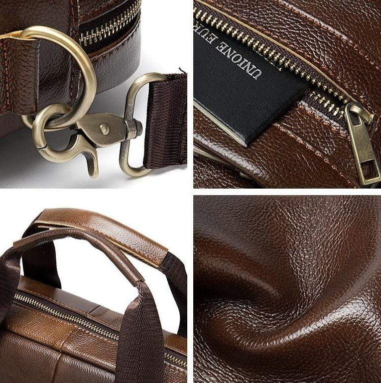 Prospector Generation Leather Briefcase