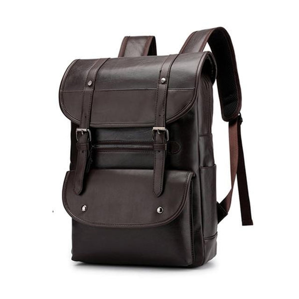 Vintage Era VIII Leather Backpack