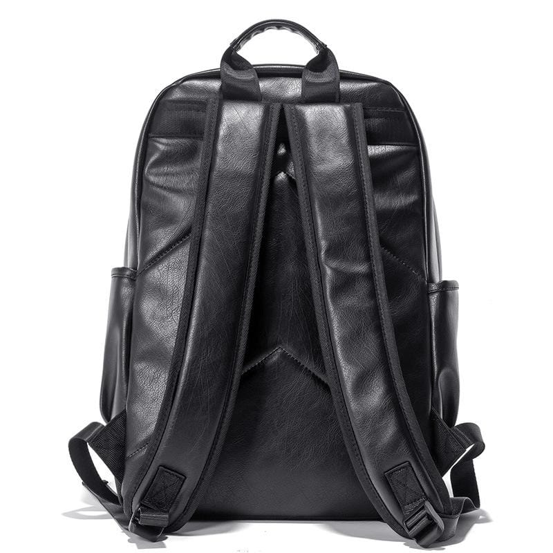 Explorer Signature Leather Backpack