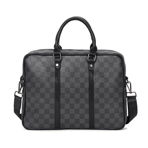VT Original Plaid Briefcase