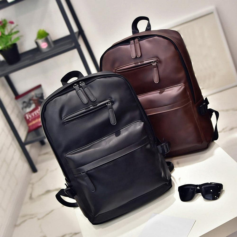 Ace I Leather Backpack
