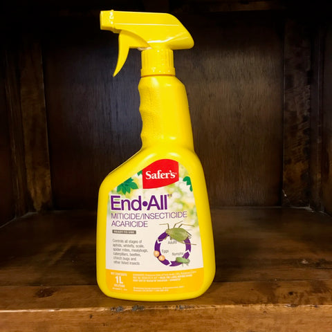 Safer's End All Insecticide/Miticide/Acaricide Ready-To-Use 1L