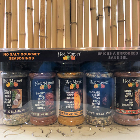 Gourmet Seasonings Set of 5