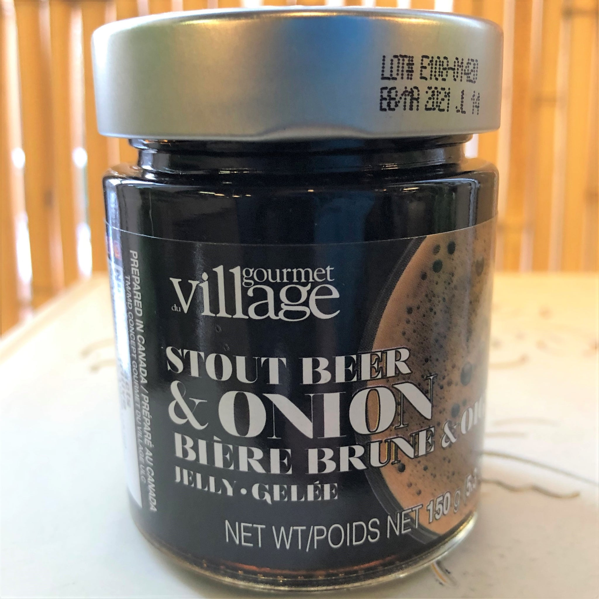 Stout Beer & Onion Jelly 150g