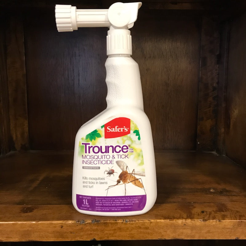 Safer's Trounce Mosquito and Tick Insecticide Concentrate 1L