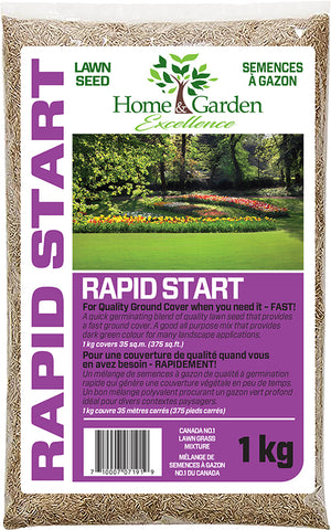H&G Rapid Start Lawn Seed 1kg