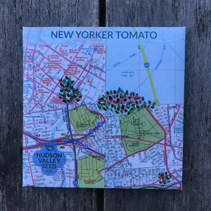 New Yorker Tomato Seed Packet