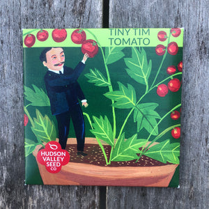 Tiny Tim Tomato Seed Packet