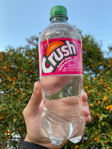 Crush Clear Cream Soda (Canada)