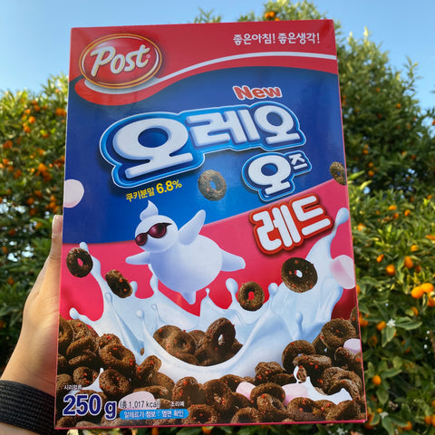 Oreo O's Strawberry Cereal (Korea)