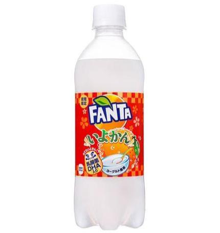 Fanta Iyokan - Orange Yogurt (Japan)