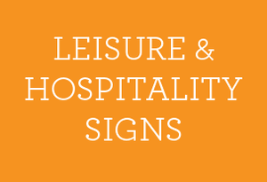 Leisure & Hospitality Signs - Social distancing kits