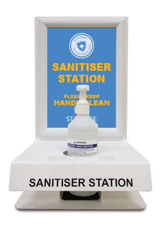Wall or Desk Mounted Sanitiser Unit - Social distancing kits