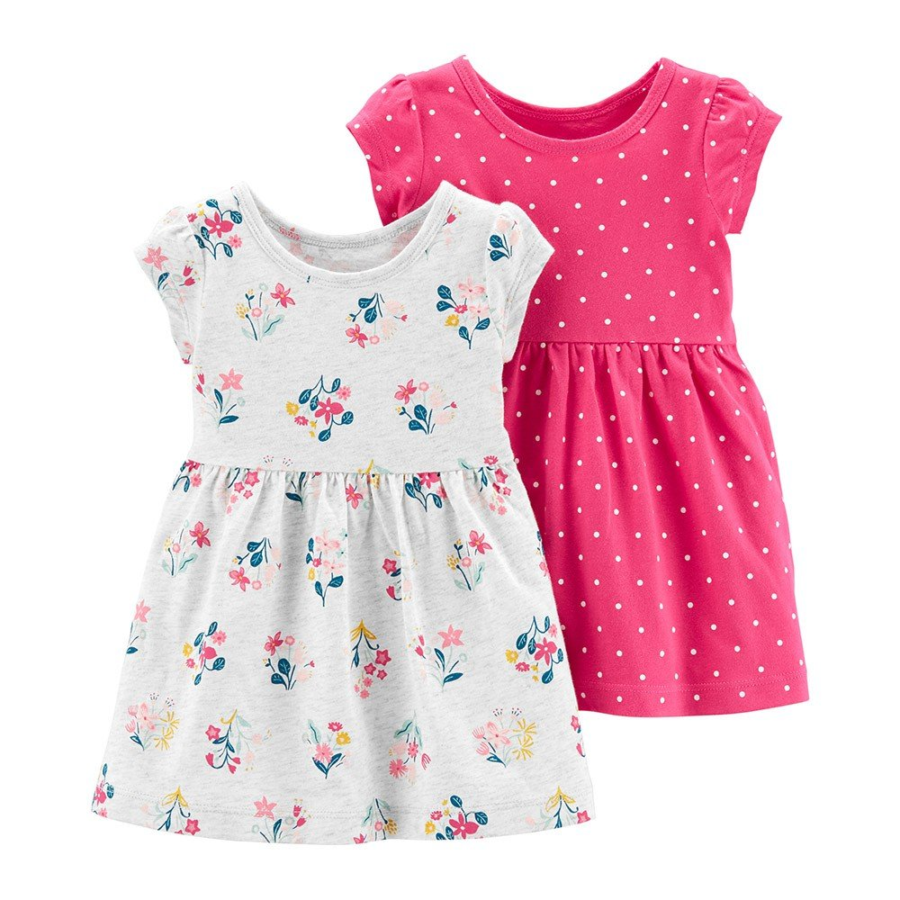 Kit Vestidos Carter's - 18M